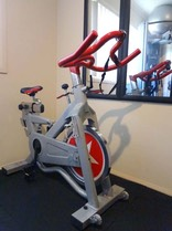 private spin class strength training gym robina